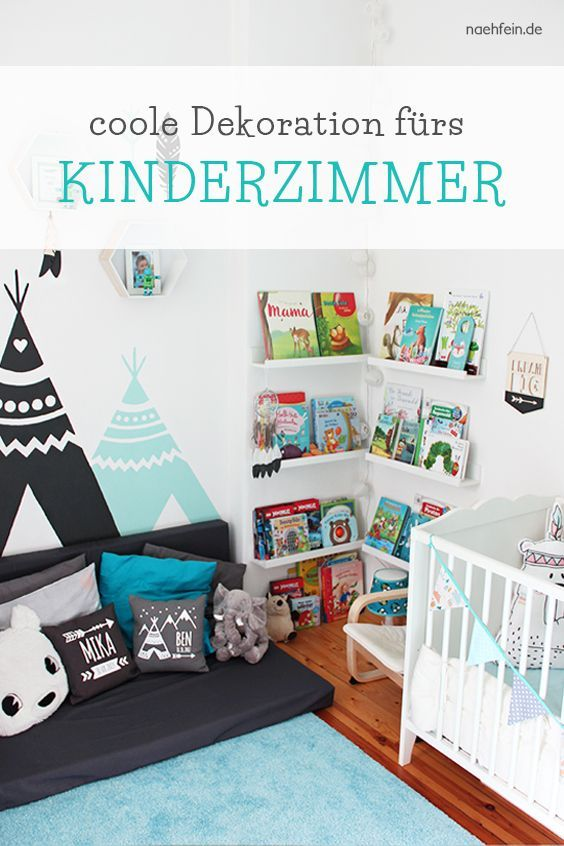 Cool decoration for the nursery – now suitable for every nursery …  – children's room bin