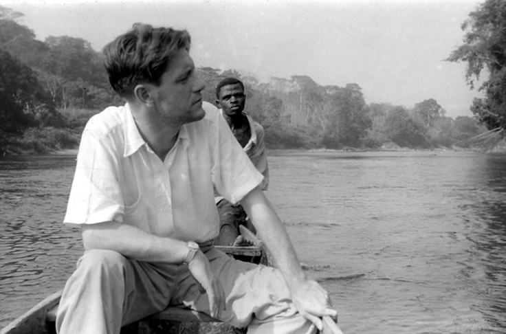 Gerald Durrell (1925-1995) British naturalist, zookeeper, conservationist, author & tv presenter. Founded Jersey Zoo in the Channel Is.