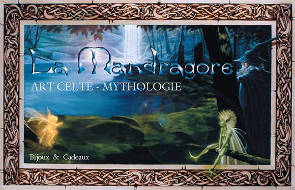 La Mandragore – Bijoux, cadeaux, art celte et mythologie – Paris