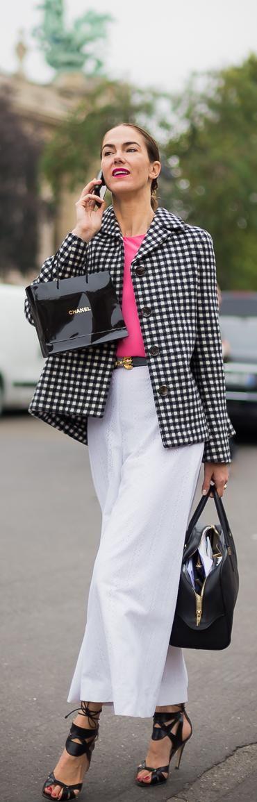 #Modest doesn't mean frumpy. #DressingWithDignity www.ColleenHammond.com Paris FW SS2014: J.J. Martin