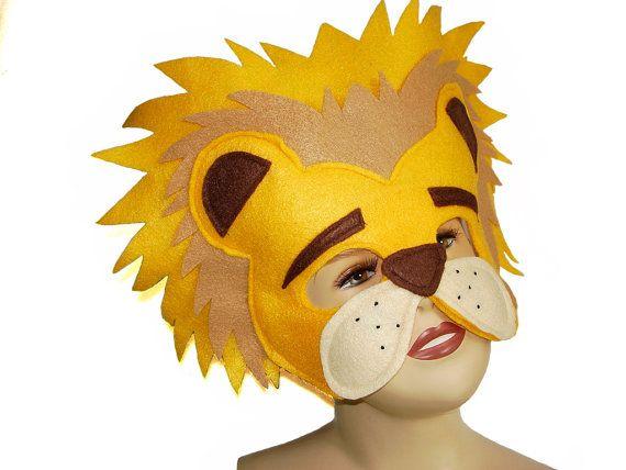 León del Animal del Safari infantil fieltro por MagicalAttic