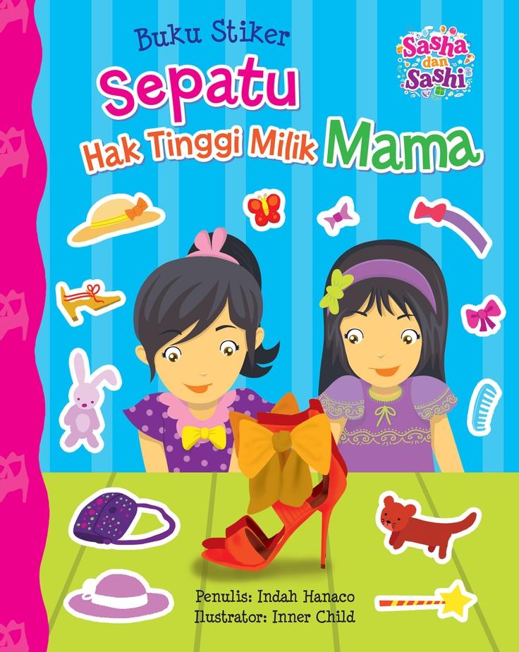 Sashi senang memakai sepatu milik Mama. Ia mengajak Sasha untuk bermain dengan sepatu Mama, tapi Sasha tidak mau. Saat sedang memakai sepatu Mama, Sashi berlari keluar untuk menyambut Mama yang baru saja pulang. Sashi tersandung dan jatuh, kakinya terkilir. Setelah peristiwa itu Sashi tidak mau lagi memakai sepatu Mama.    Informasi Buku : Judul Buku : SASHA dan SASHI, Sepatu Hak Tinggi Milik Mama Penulis : Indah Hanaco Harga Buku : Rp 24.000