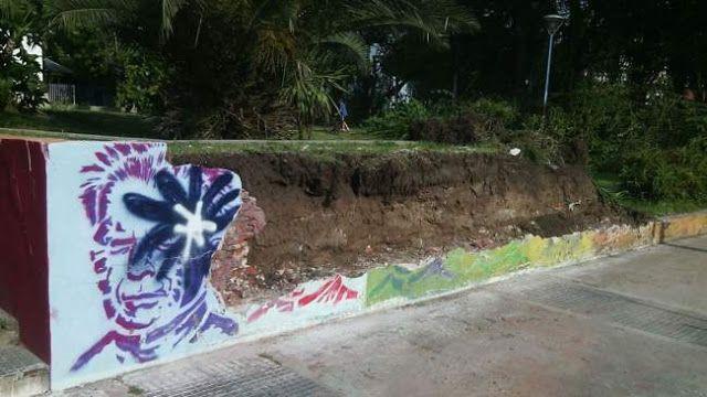 ESCALADA: PARA EVITAR UN HOMENAJE A JULIO LOPEZ DERRIBARON UNA PARED DE LA PLAZA PRINCIPAL      El colmo: para evitar un homenaje a Julio López tiraron abajo una pared de la plaza principal de Escalada Contenía un mural que había sido tapado hace dos semanas. Varios organismos de Derechos Humanos habían realizado una convocatoria para restaurarlo el domingo que viene. El martes apareció derribado un muro que contenía un mural en homenaje a Jorge Julio Lopez. Estaba ubicado en la plaza…
