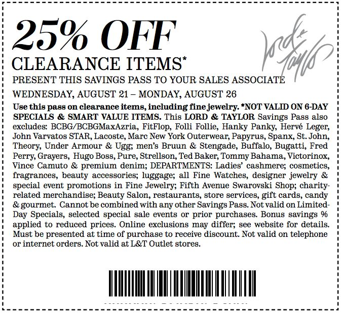 photo about Boot Barn Coupons Printable titled Lord and taylor coupon codes may possibly 2018 - Earthbound investing