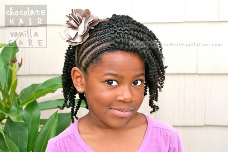 Side Flat Rope Twists with Box Twist-Out #NaturalHair   Chocolate Hair / Vanilla Care