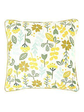 Urban Explorer Leaf print design print cushion #houseoffraser