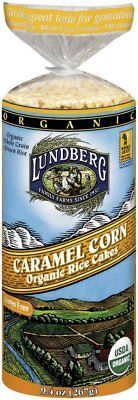 Rice Cakes 179184: Lundberg Farms Organic Caramel Corn Rice Cakes, 9.4-Ounce Packages Case Of 12 -> BUY IT NOW ONLY: $53.46 on eBay!