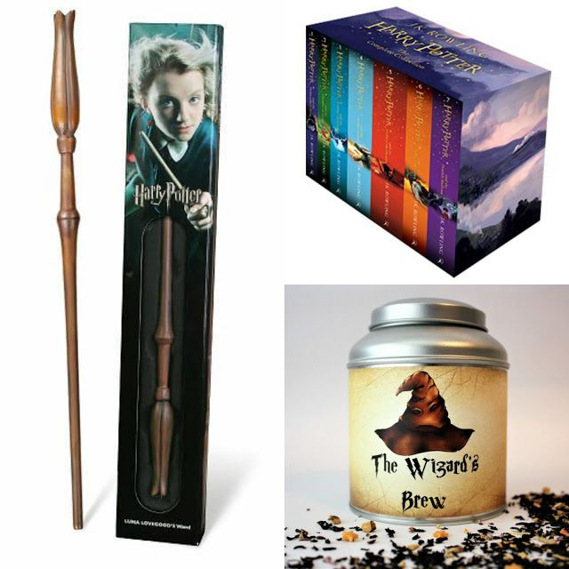 With Love for Books: Harry Potter Box Set, Luna Lovegood Wand & The Wizard's Brew Tea Giveaway