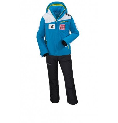 It's a challenge to find a jacket for junior that can do it all. The solution is the Junior ÖSV Cian jacket from Schöffel. Its laid-back freestyle fit combines effortlessly with the kind of functionality that top skiers demand. Waterproof, breathable and packed with technical features for your ultimate comfort and protection. Your adventure starts here!