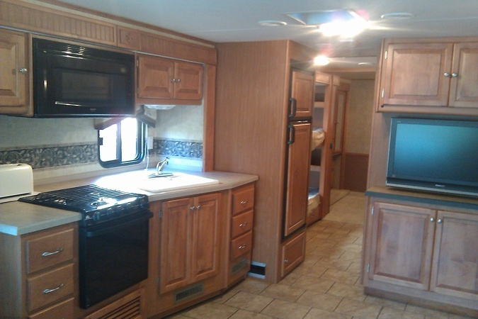 Tiffin 35 ft qba motorhome. Tiffin allegro, Motorhome