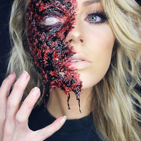 52 best Halloween Make Up images on Pinterest | Velour lashes ...