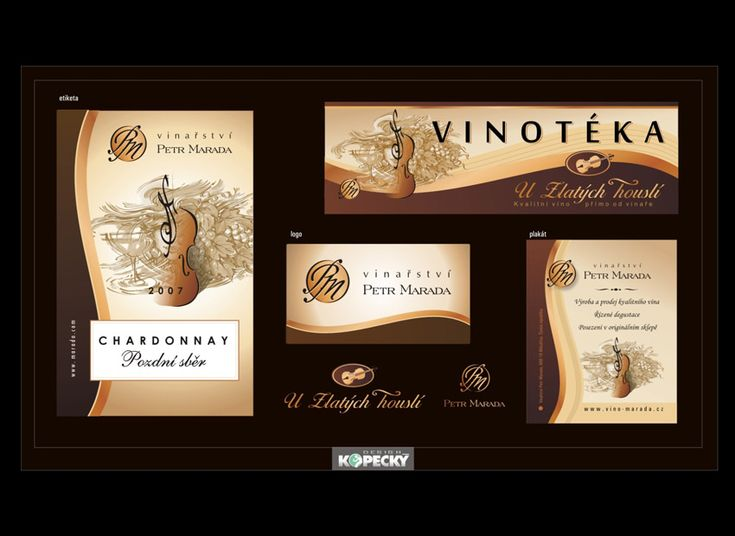 packaging, design, logo - winery