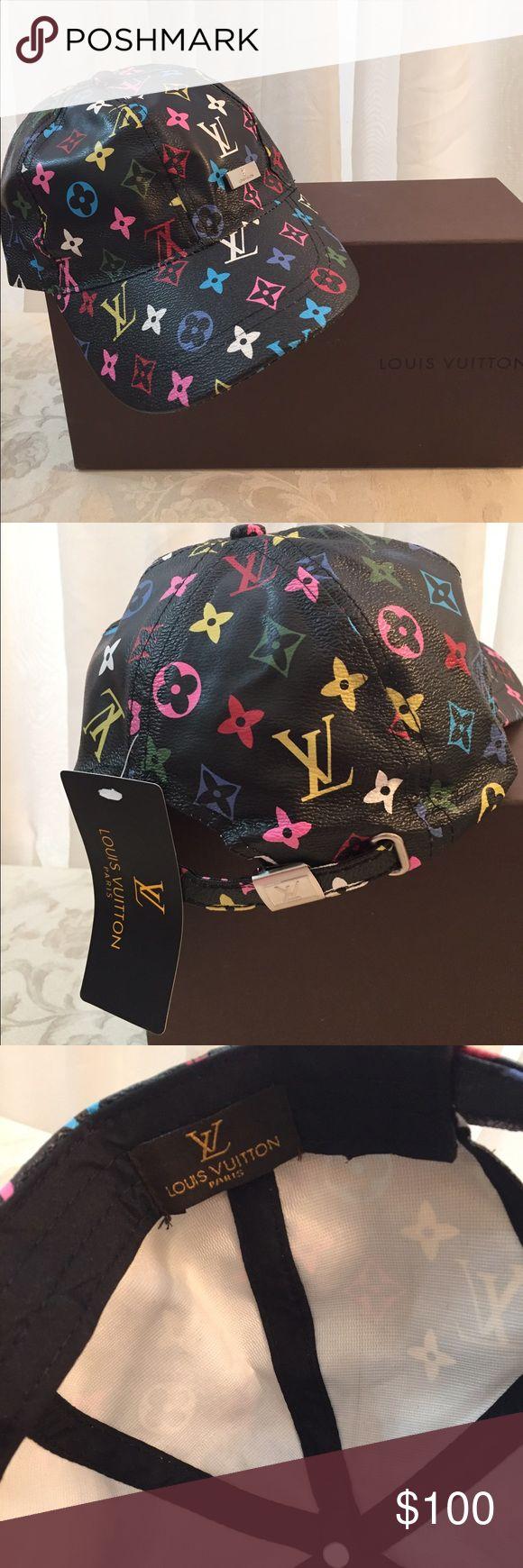 LV Sport Cap Unisex LV Multicolor Monogramed cap, unisex, New Louis Vuitton Accessories Hats