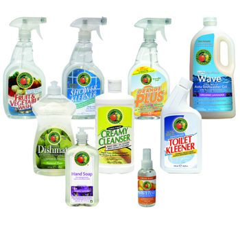 Earth Friendly Products Kitchen & Bath Cleaning Products