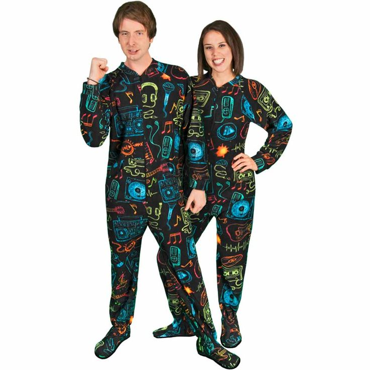 Footed pajamas for adult #10