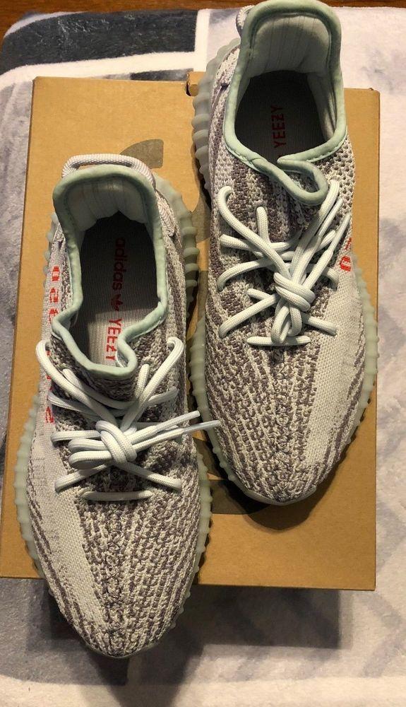 6b40a48f75a140 Yeezy Boost 350 V2 Zebra Sneakers Men s Size 9 4058027661854