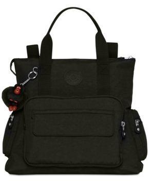 75805d8c58b4 Kipling Alvy 2-In-1 Convertible Tote Bag Backpack - Black