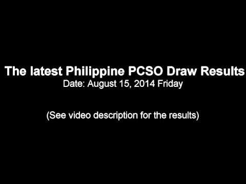 AUGUST 15, 2014 PCSO LOTTO DRAW RESULTS - (More info on: https://1-W-W.COM/lottery/august-15-2014-pcso-lotto-draw-results/)