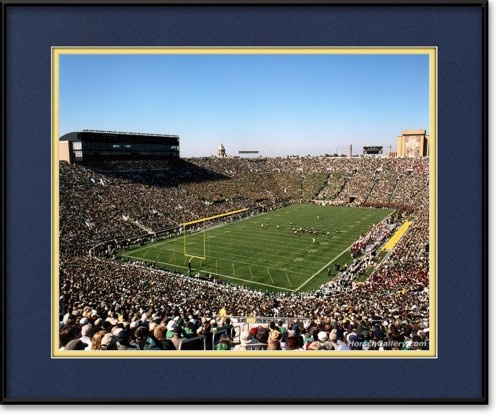 Notre Dame Football Stadium Photo | View more @ HorschGallery.com