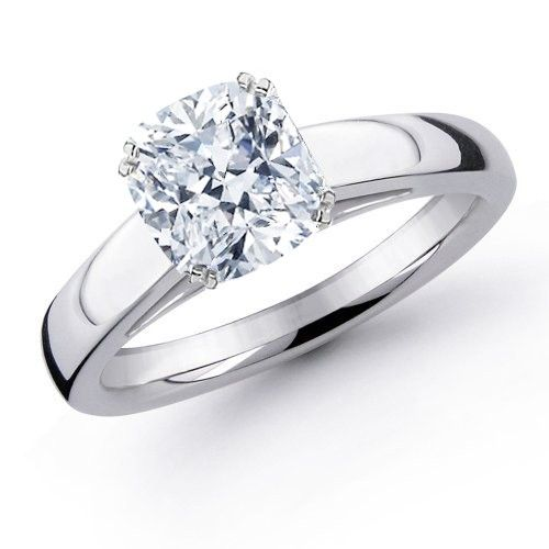 11 best images about Cushion Cut Engagement Rings on Pinterest