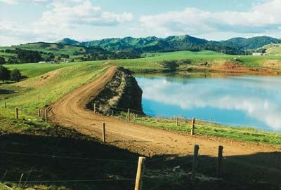 A dam on a farm will drastically increase the value of the land as the potential for greater yields grows. Poly Roads is a professional at laying geo-liners for dams and reservoirs. http://polyroads.com/