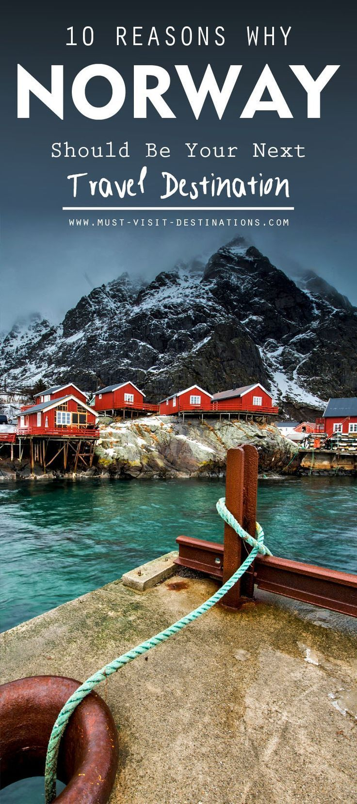 Definitely one of the most intriguing tourist destinations in all of Europe and arguably the world, anyone looking to discover Norway is in for a surprise of a lifetime. We definitely were, and we'd like to share our findings with you. Here are 10 Reasons Why Norway Should Be Your Next Travel Destination