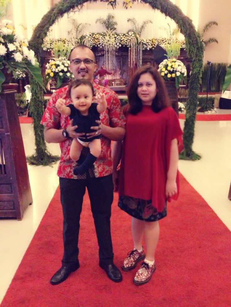 Raquella with Mom&Dad...