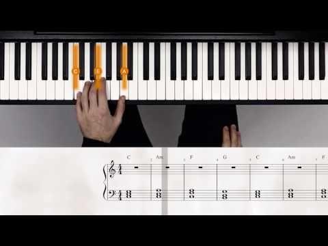 Einfach Klavier lernen – Wie du mit nur 4 Akkorden tausende Songs spielst | flowkey