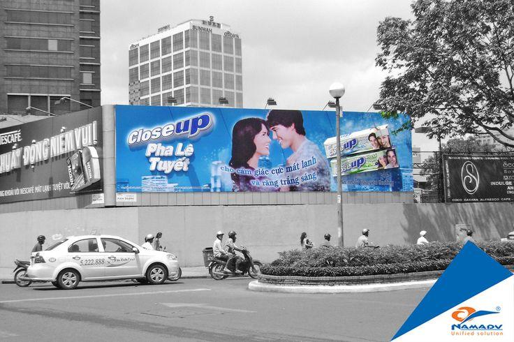 Bảng quảng cáo Closeup