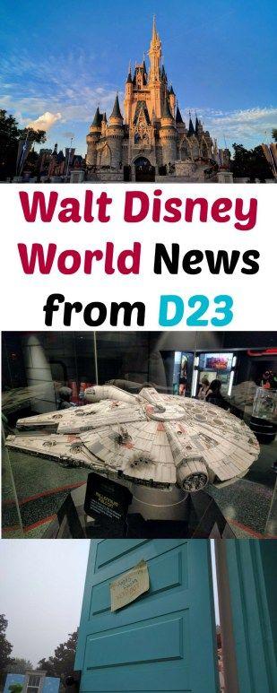 Walt Disney World News from D23