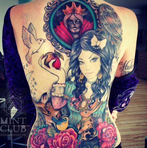 Best 25 full back tattoos ideas on pinterest back for Female yakuza tattoo