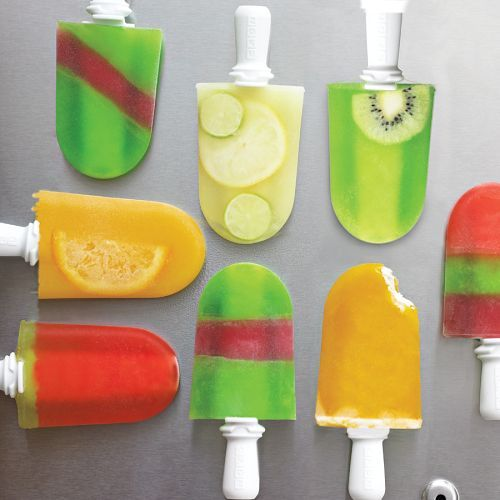 Kate & I can make fun popsicles this summer!!...zoku popsicle maker