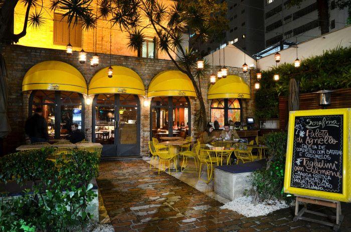 Restaurante Serafina, São Paulo de Piratininga - SP, Brasil