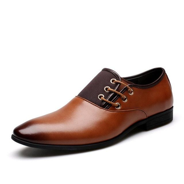 Big Size 38-47 Fashion Men Dress Shoes, Casual Simple Leather Men Oxford, High Quality Oxford Shoes For Men