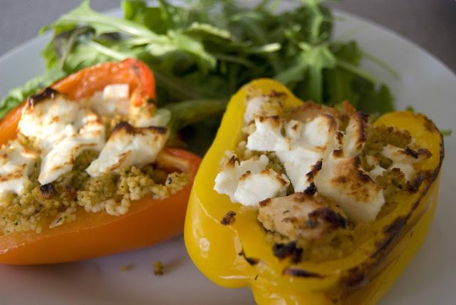 peppers mom s stuffed bell peppers couscous and feta stuffed peppers ...