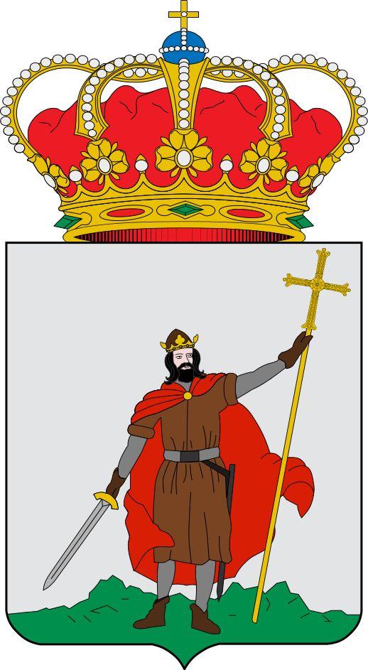 Escudo de Gijón - Gijón - España. Gijón (en asturiano: Xixón3 ) es una ciudad española, con la categoría histórica de villa,4 capital del concejo del mismo nombre. Está situada en la costa del Principado de Asturias, comunidad autónoma de la que es su municipio más poblado con 275 274 habitantes (INE, 2013). Gijón es, además, una parroquia del concejo, cuya única entidad singular de población es la localidad homónima y es además conocida por antonomasia como la capital de la Costa Verde.