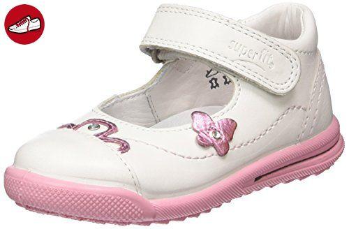 Superfit AVRILE MINI, Baby Mädchen Lauflernschuhe, Weiß (WEISS KOMBI 51), 21 EU - Kinder sneaker und lauflernschuhe (*Partner-Link)