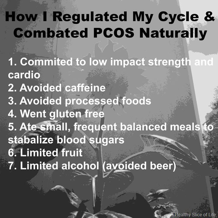 regulating cycles and beating pcos naturally