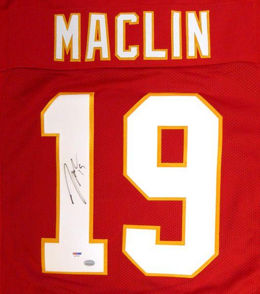 Kansas City Chiefs Jeremy Maclin Autographed Red Jersey PSA/DNA