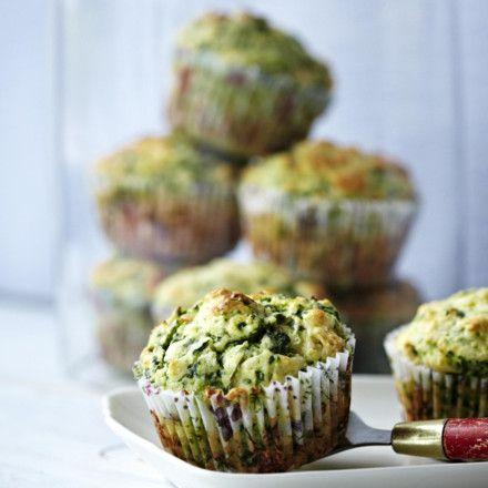 Florentine Muffins (Herzhafte Spinat-Ricotta-Muffins) Rezept
