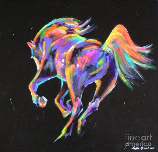 Neon Horse Wallpaper | www.imgkid.com - The Image Kid Has It!