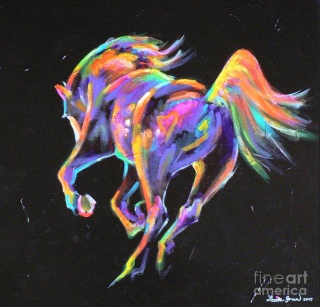 Neon Horse Wallpaper | www.imgkid.com - The Image Kid Has It!