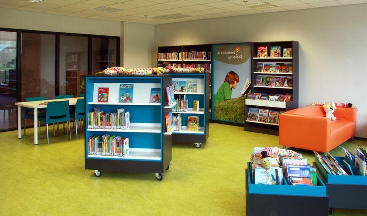 Meer dan 1000 idee u00ebn over Schoolbibliotheek Inrichting op Pinterest   Schoolbibliotheken