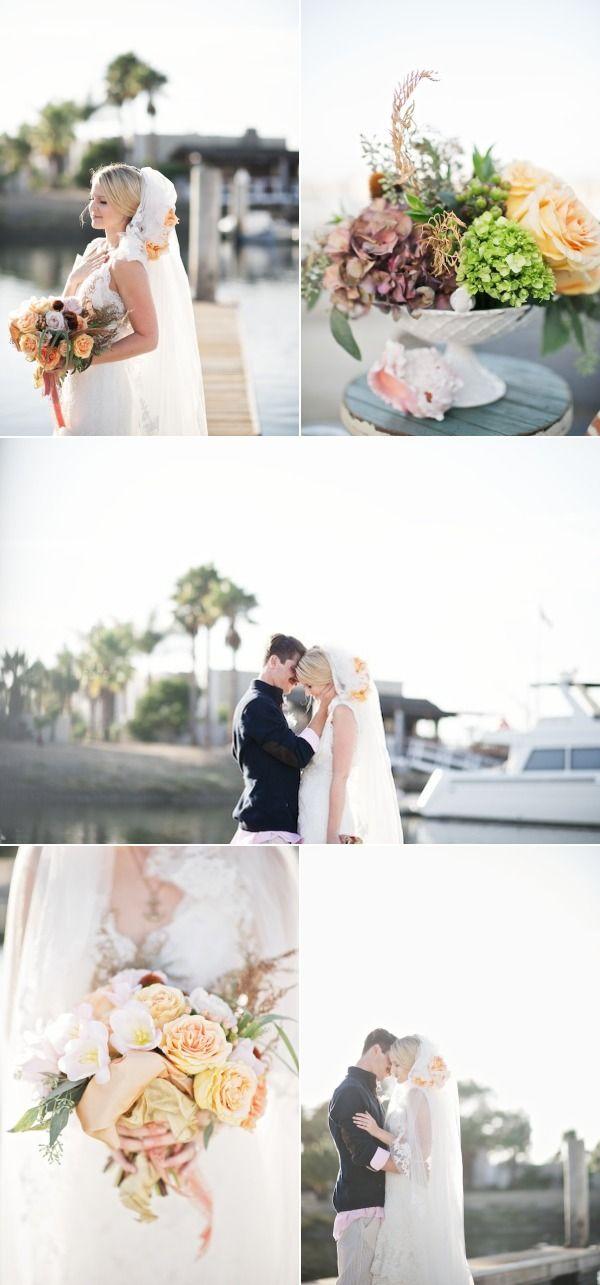 Huntington Beach California Wedding From Kat Harris