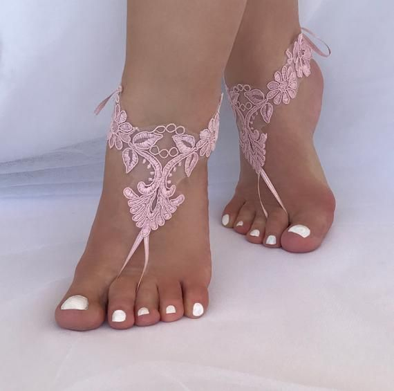 Beach Wedding Barefoot Sandals Wedding Anklets Barefoot Sandals Gifts for Bride