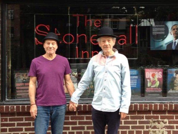 BEST FRIENDS FOR LIFE! | 10 Reasons Patrick Stewart And Ian McKellen's Friendship Is The BEST