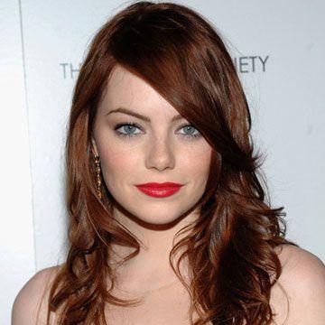 hair color: Hair Ideas, Red, Style, Emma Stone, Beauty, Stones, Hair Color