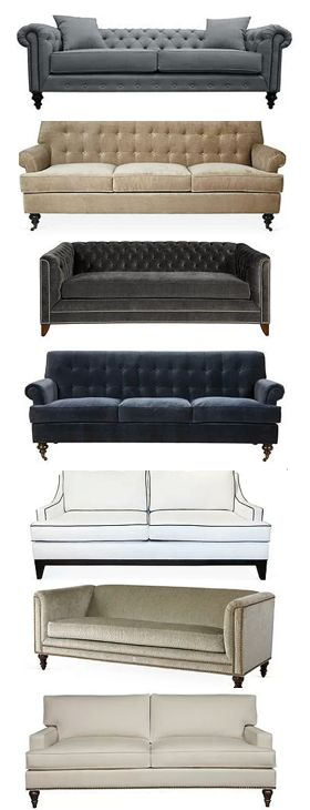 mod vintage inspired couches -- vintage modern mid-century eclectic glam lux lush hollywood regency chippendale mad men boho bohemian eclectic interior design home decor inspiration guide