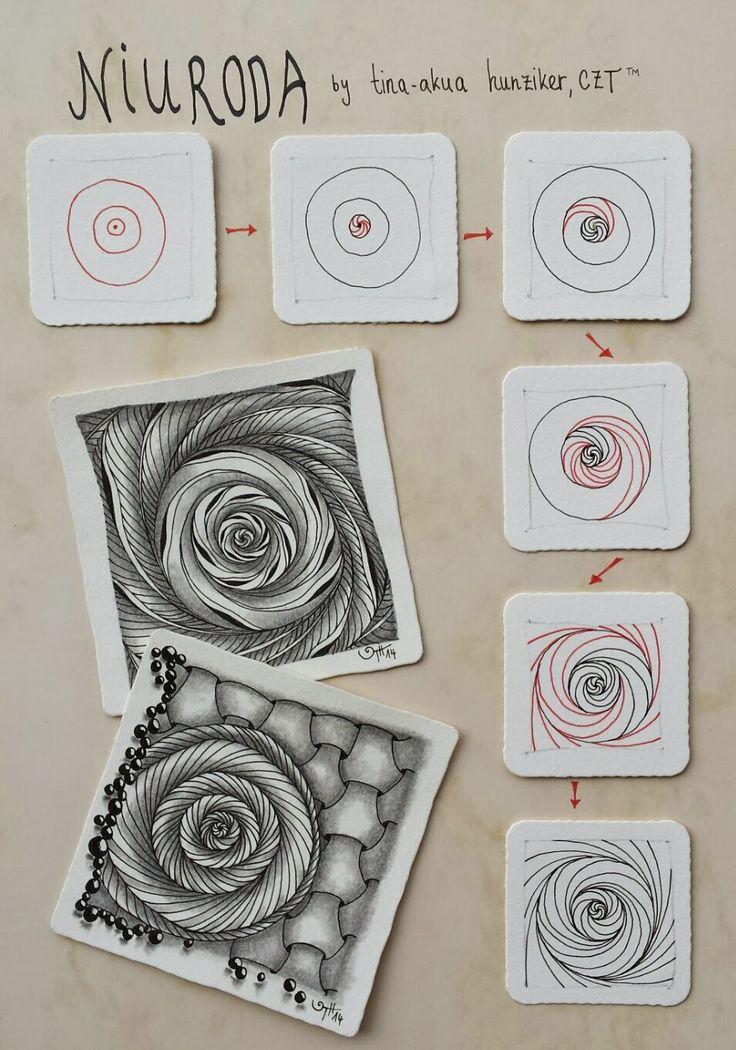 AKUA-ART Niuroda by Tina - aka Hunziker, Certified Zentangle Teacher