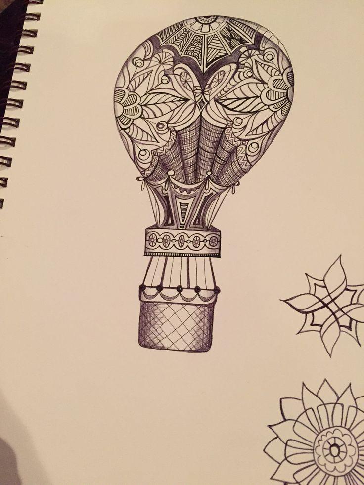 Die besten 25 Ideen zu Air Balloon Tattoo auf Pinterest ...